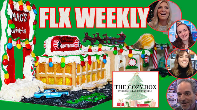 FLX WEEKLY: Mac's Drive-In Gingerbread House & Christmas at CVDesigns (podcast)
